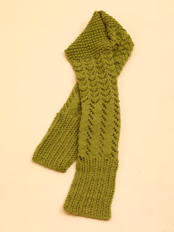 Lace Sampler Scarf (Knit)