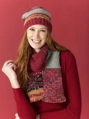 Level 2 - Easy Knit Scarf & Hat (Knit)