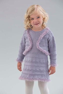Little Sweetheart Bolero Pattern (Knit)