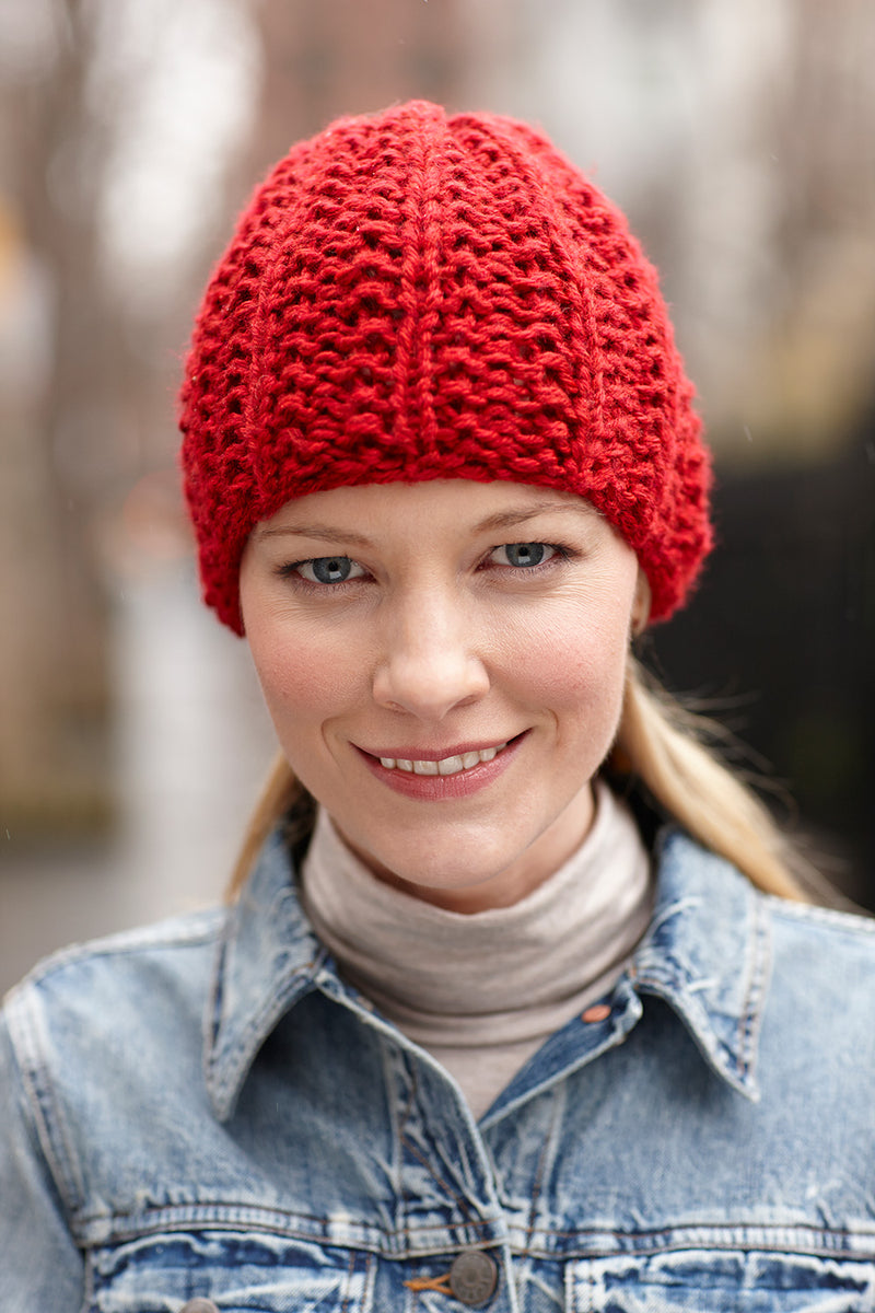 Lively Hat Pattern (Knit)