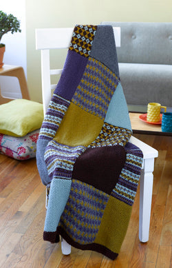 Magic Carpet Throw (Knit)