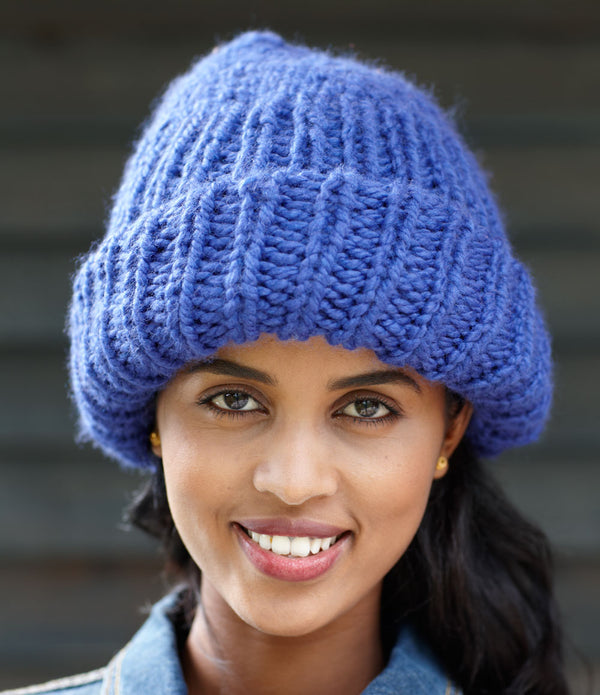 Make a Statement Hat Pattern (Knit)