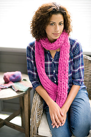 Marylebone Road Scarf Pattern (Knit)