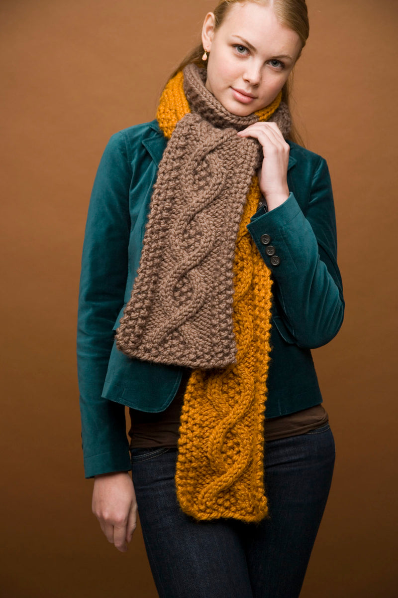 Mixed Message Scarf Pattern (Knit)