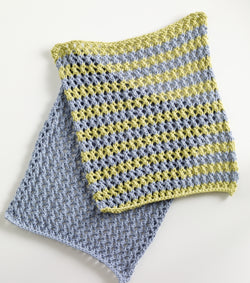 Morning Glory Washcloths Pattern (Knit)