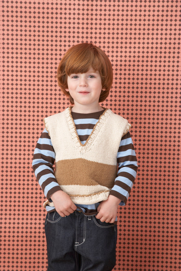 Naturally Classic Vest Pattern (Knit)