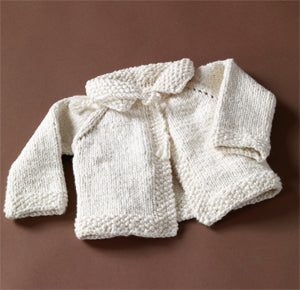 Naturally Nice Baby Sweater Pattern (Knit)