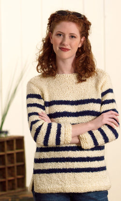 Nautical Pullover Pattern (Knit)