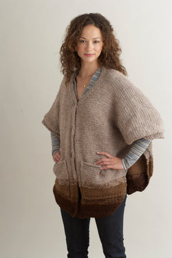 Over Easy Poncho Pattern (Knit)