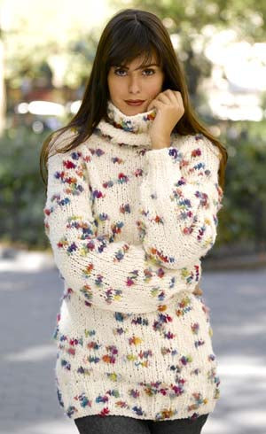 Oversized Turtleneck Pattern (Knit)