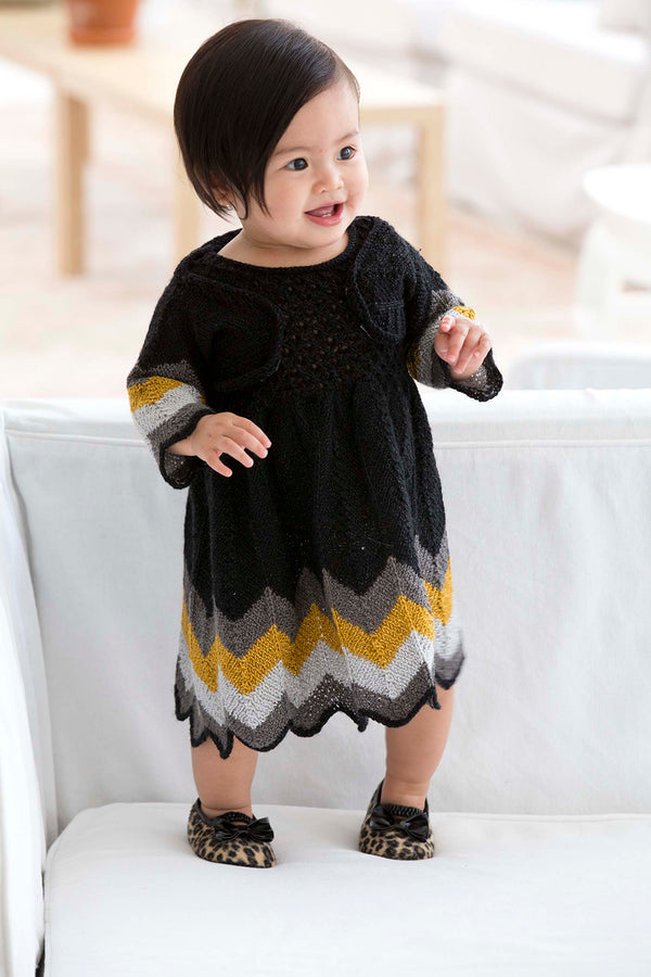 Party Dress And Shrug Pattern (Knit)