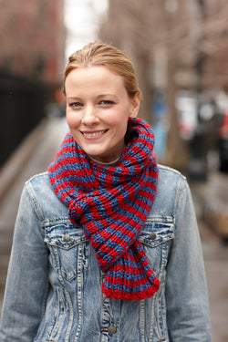 Patriot Scarf (Knit)