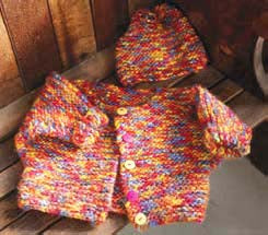 Playground Sweater and Hat Pattern (Knit)