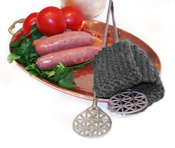 Pot Holder Grill Mitt Pattern (Knit)
