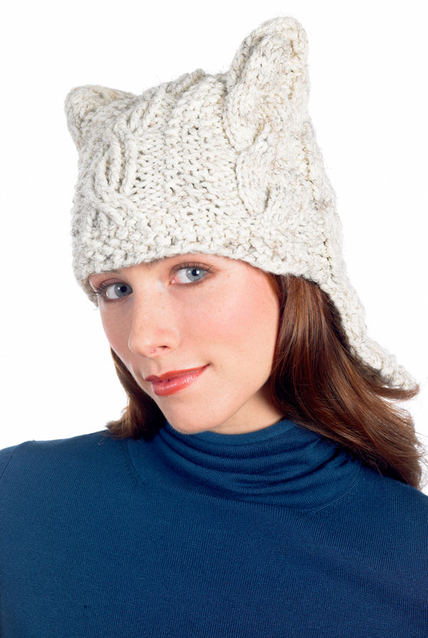 Quick Cabled Hat Pattern (Knit)