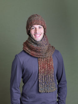 Ramstar Falls Hat And Scarf Pattern (Knit)