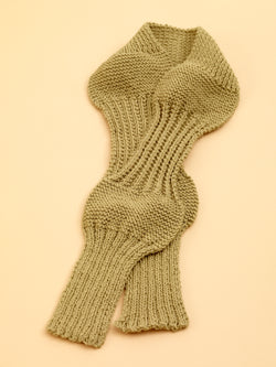 Rib Sampler Scarf Pattern (Knit)