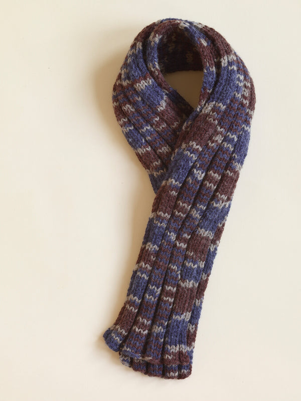 Ribbed Scarf Pattern (Knit)