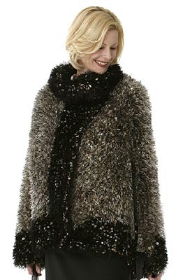 Rich Fur Coat Pattern (Knit)