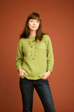 Seed Stitch Trimmed Sweater (Knit)