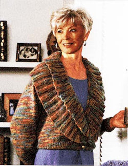 Shawl Collared Sweater Pattern (Knit)