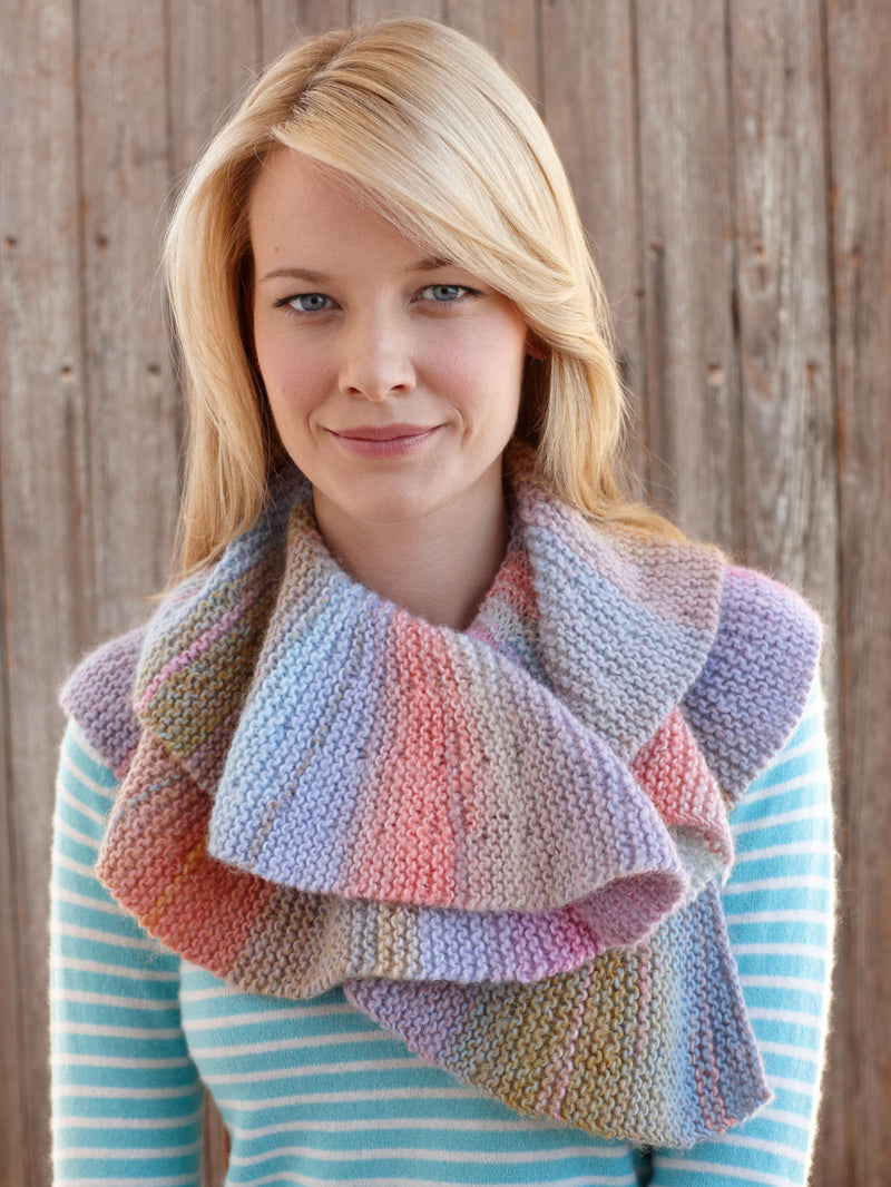 Short Row Scarf Pattern (Knit)