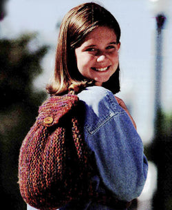 Simple Garter Stitch Backpack Pattern (Knit)