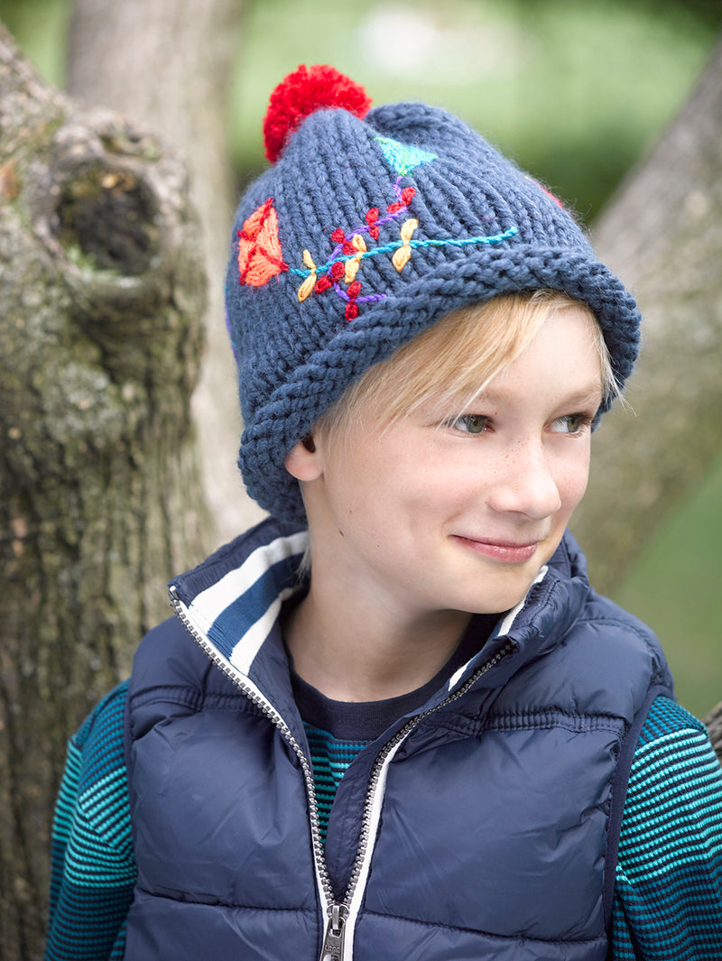 Slouch Hat Pattern (Knit)