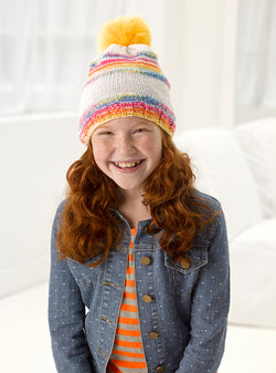 Sparkle Knit Hat Pattern