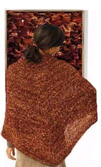 Split Collar Poncho Incredible Version Pattern (Knit)