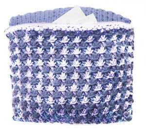 Starry Treasure Pillow (Knit)