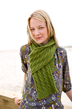 Statement Scarf Pattern (Knit)