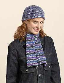 Stocking Stitch Hat and Scarf Pattern (Knit)