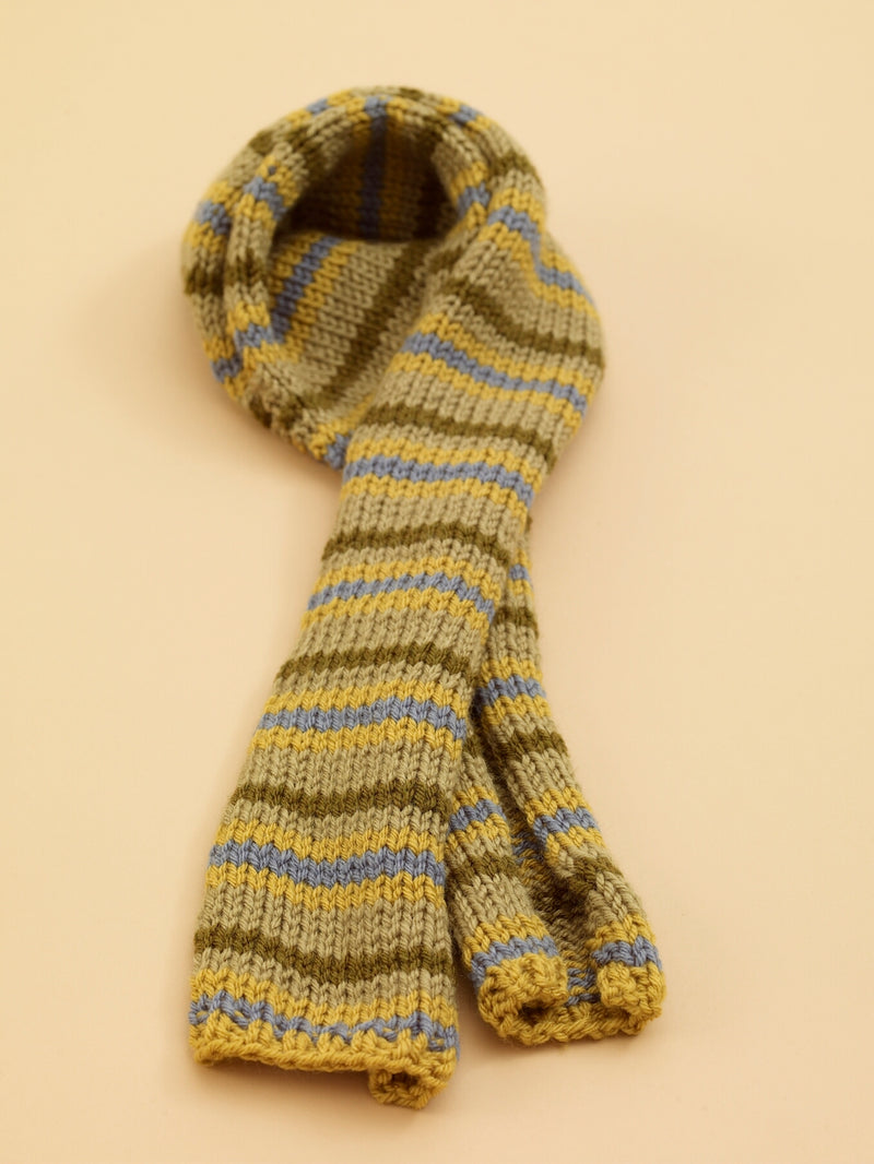 Striped Scarf Pattern (Knit)