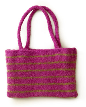 Stripey Strap Bag Pattern (Knit)