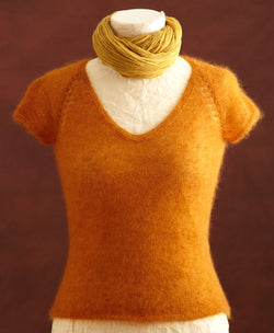 Sunset Raglan Tee Pattern (Knit)