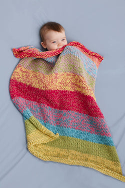 Sunshine Day Baby Throw Pattern (Knit)