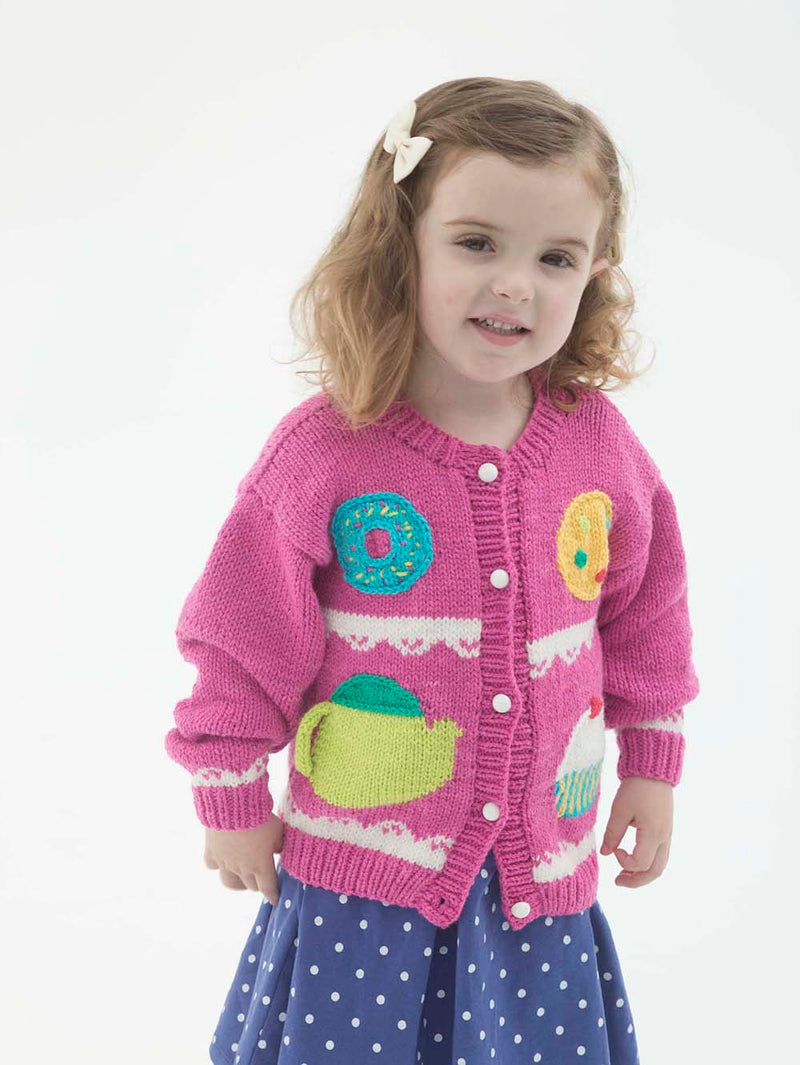 Sweets Cardigan Pattern (Knit)