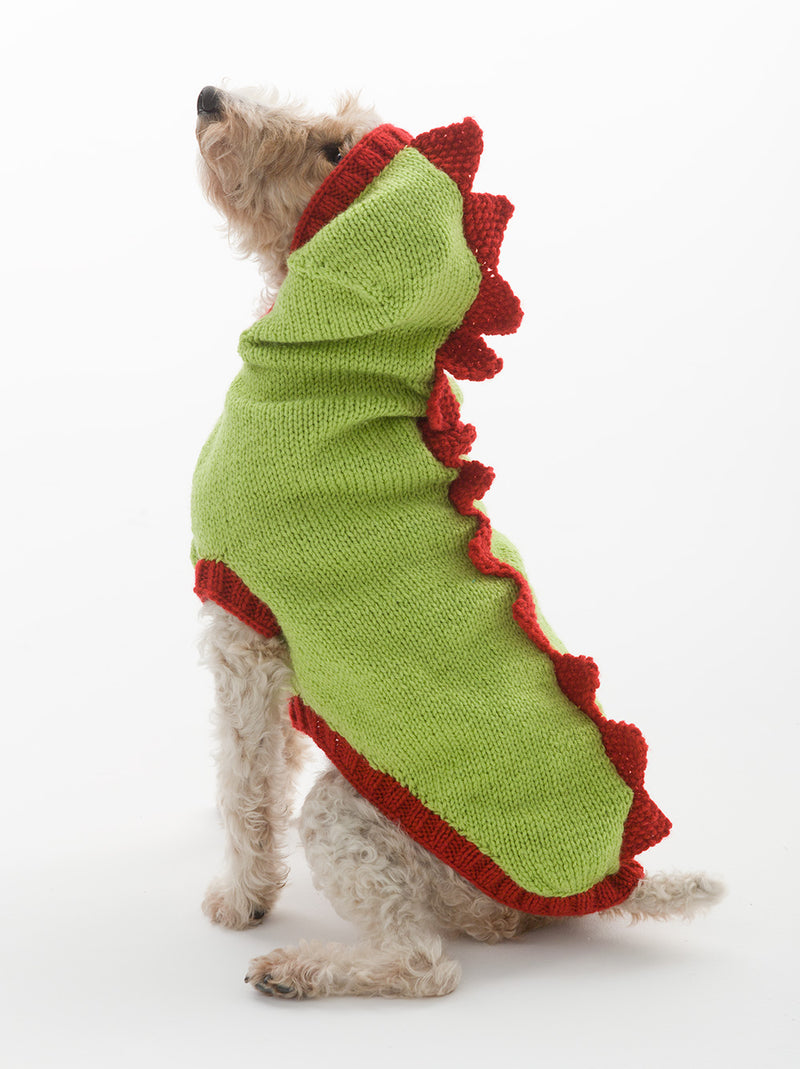 The Dragon Slayer Dog Sweater Pattern (Knit)