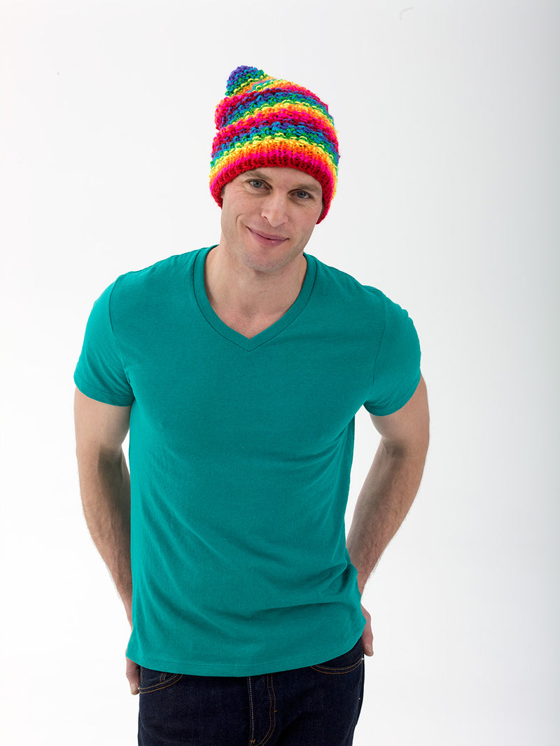 The Proud Supporter Hat Pattern (Knit)