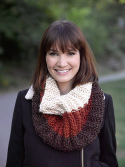 Three Color Cowl Pattern (Knit)