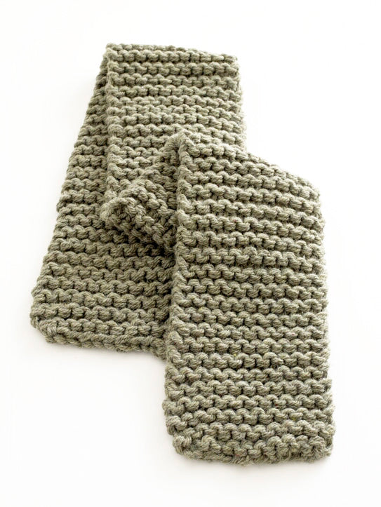 Two Hour Knit Scarf Pattern