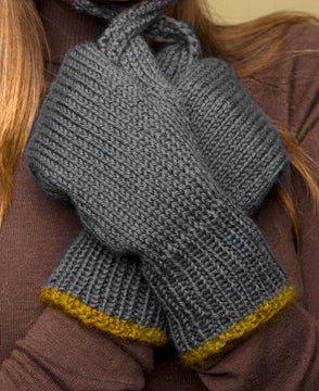 Warm Wool Mittens Pattern (Knit)