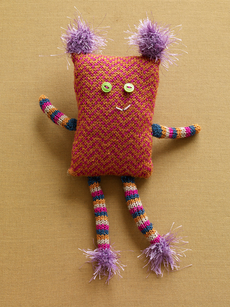 Zigzag Sally Doll Pattern (Knit)
