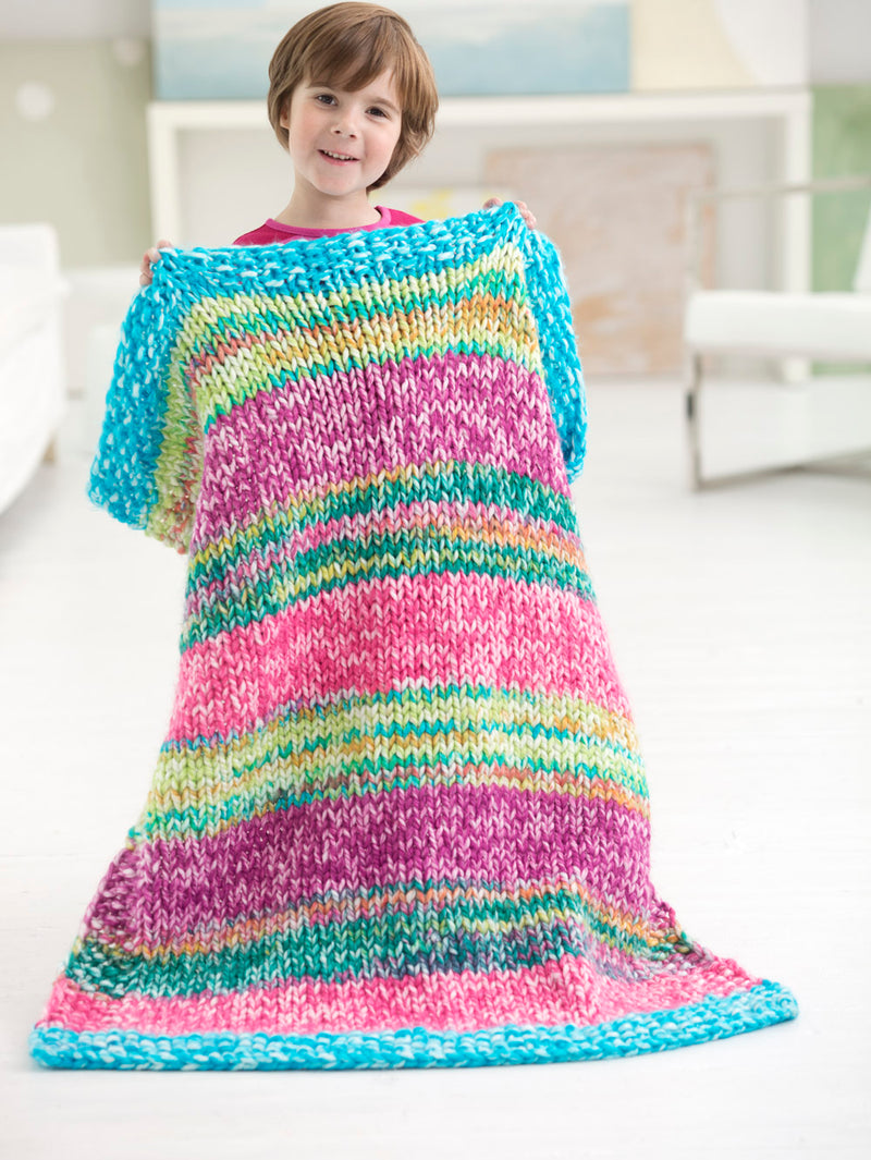Radiant Baby Afghan (Knit)