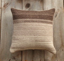 Ommbre Stripe Pillow (Knit)