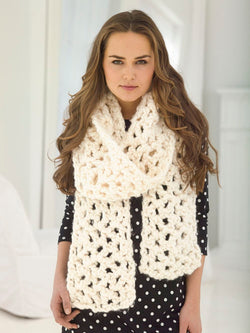 V-Stitch Scarf (Crochet)