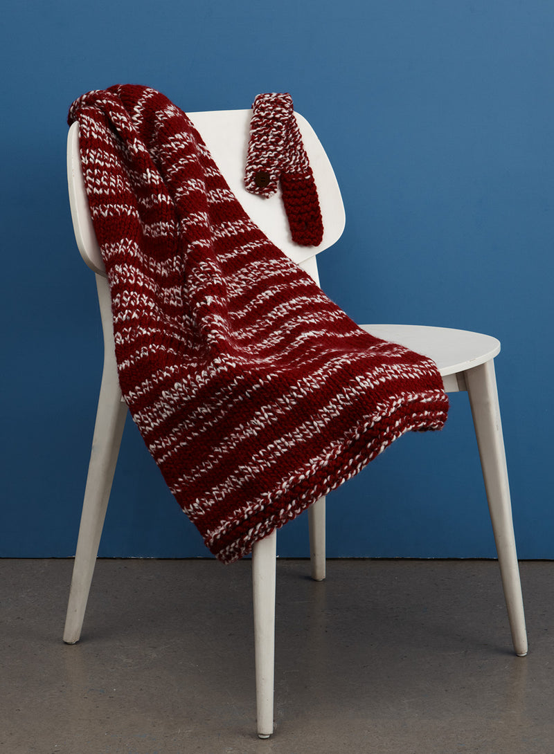 Compact Car Blanket (Knit)