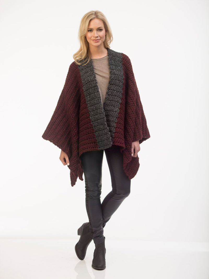Carrington Poncho (Crochet)
