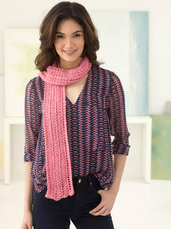 Soft Lace Scarf (Knit)